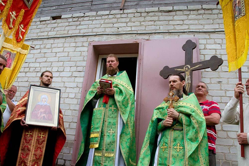 Иерей Дмитрий настоятель храма Святой Блаженной Ксении Петербуржской