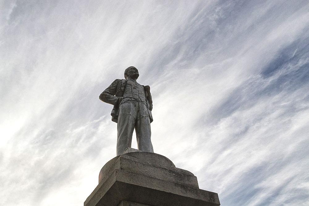 Памятник В И Ленину в с Каменном
