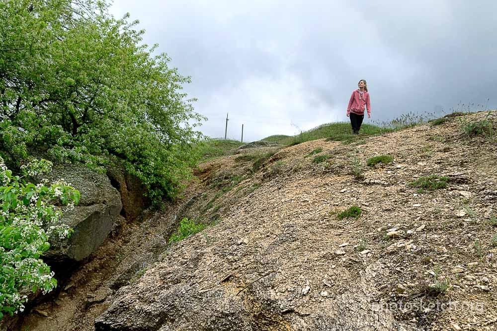 Каменное урочище у села Дружелюбовка
