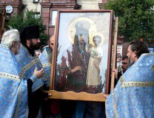 чудотворная икона Призои на смирение прибыла в Запорожье