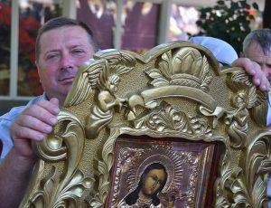 храмовая икона из Вольнянского храма