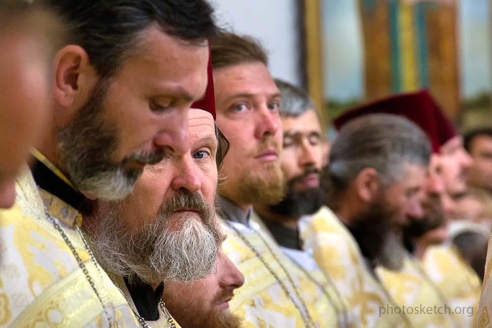 праздничная служба в Покровском соборе