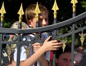 решетка забора Покровского собора