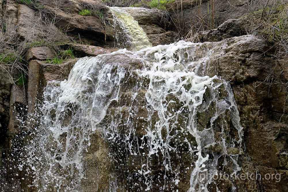 водопад у села Дружелюбовка запорожская область