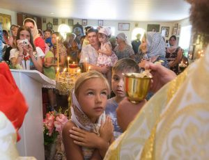 Храмовый праздник Петра и Павла.Украина.Запорлжская область