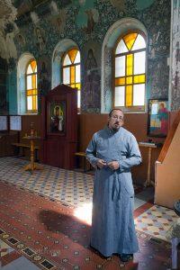 Настоятель храма Ильи Пророка Алексей Растворов