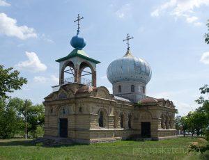 храм Ильи Пророка в селе Терновка