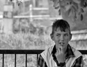 улыбка мальчика