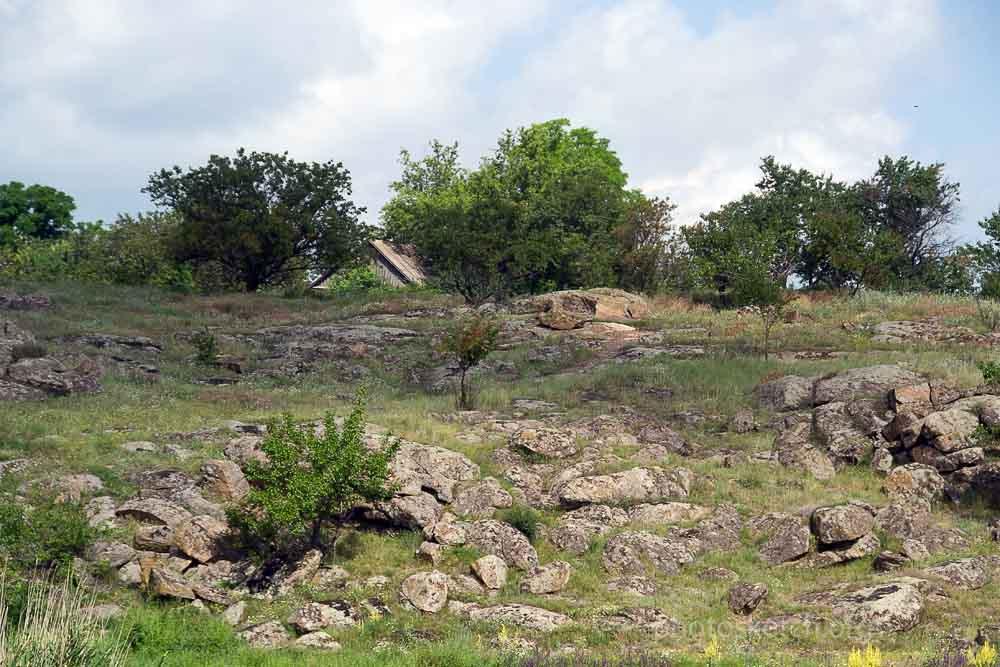 об окрестностях села Каменного Вольнянского района