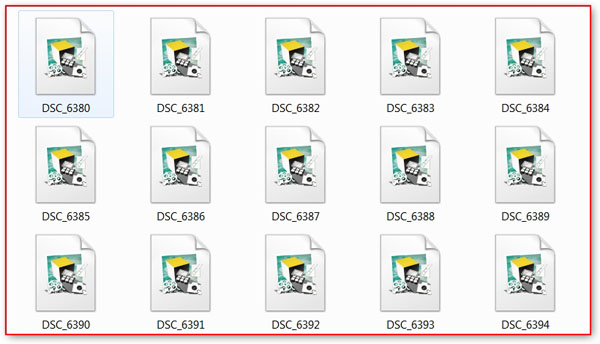 RAW файлы нельзя просмотреть средствами операционной системы виндовс
