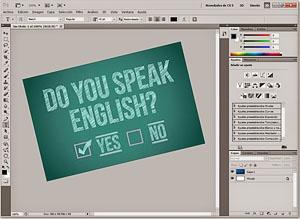 фотошоп, как сделать английским