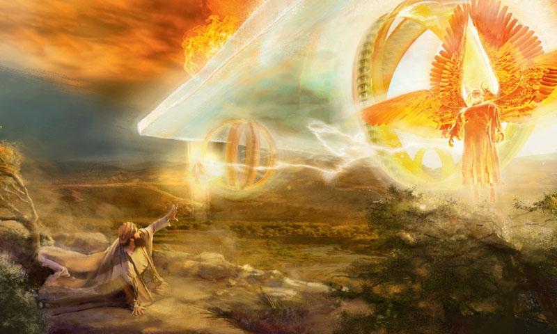 Видения пророка Иезекиля одновременно страшны и прекрасны. Это поэзия непознаваемой бездны, в которую со страхом пытается заглянуть человек
