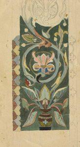 Фрагмент орнамента работы В Сонина.Фото из архива Киево-Печерской лавры